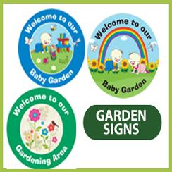 Garden and Playground Signs